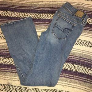 American Eagle Kickboot 10 regular Jeans stretch